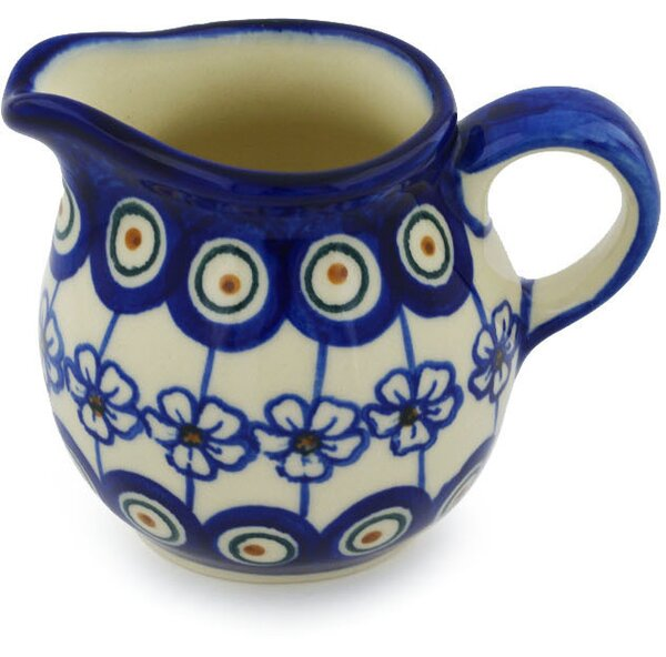 Polish Pottery 8 oz. Pitcher by Polmedia