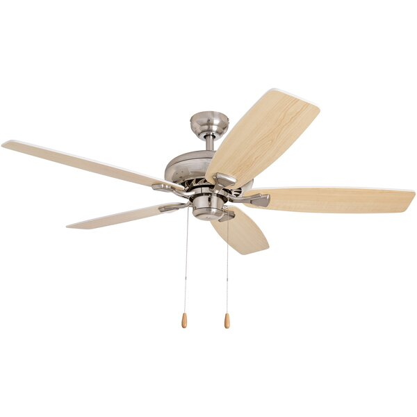 52 Redfern 5-Blade Metal Body Ceiling Fan by Andover Mills