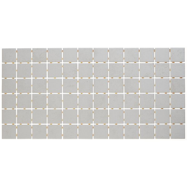 Fairfield 12 x 24 Ceramic Mosaic Tile in Ice by Itona Tile
