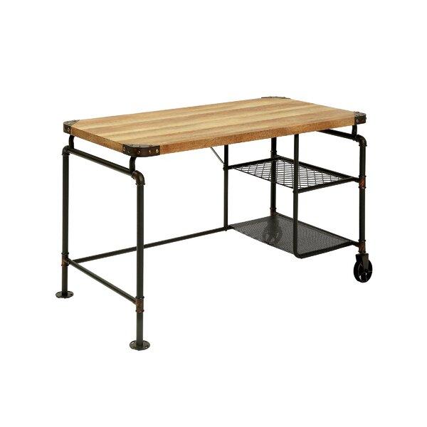 Sherburn Solid Wood Corner Desk