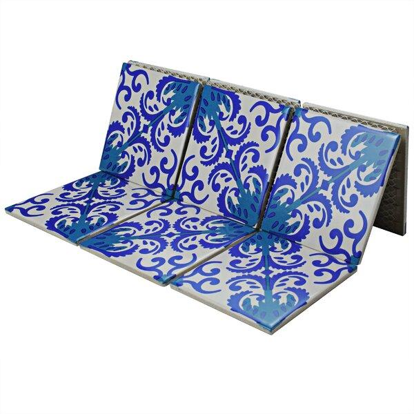 Melody Queen 3.83 x 3.83 Porcelain Mosaic Tile in Viola by EliteTile