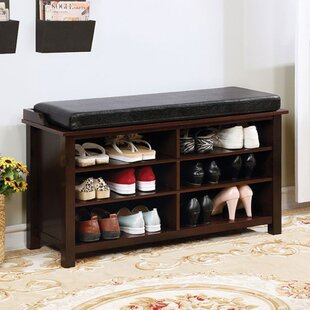 8 Pair Shoe Storage Bench By Latitude Run