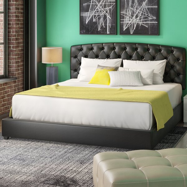 Ebright Upholstered Standard Bed by Trent Austin Design