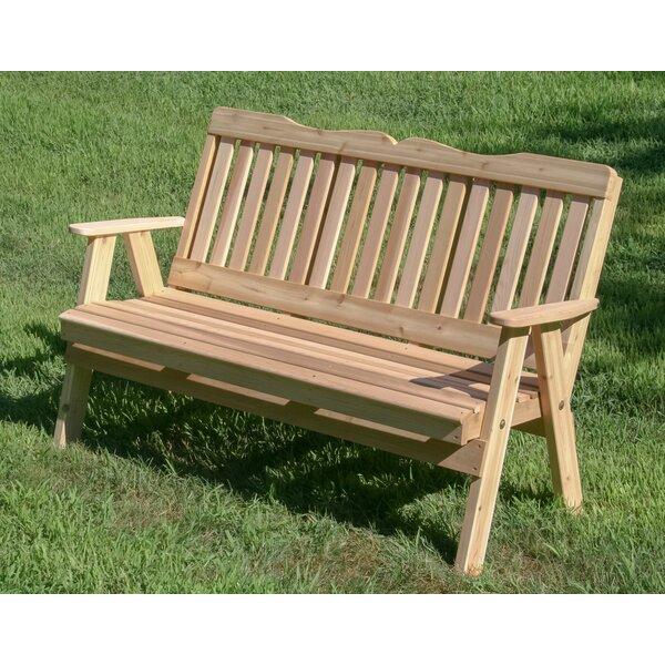 Foxx Wooden Garden Bench