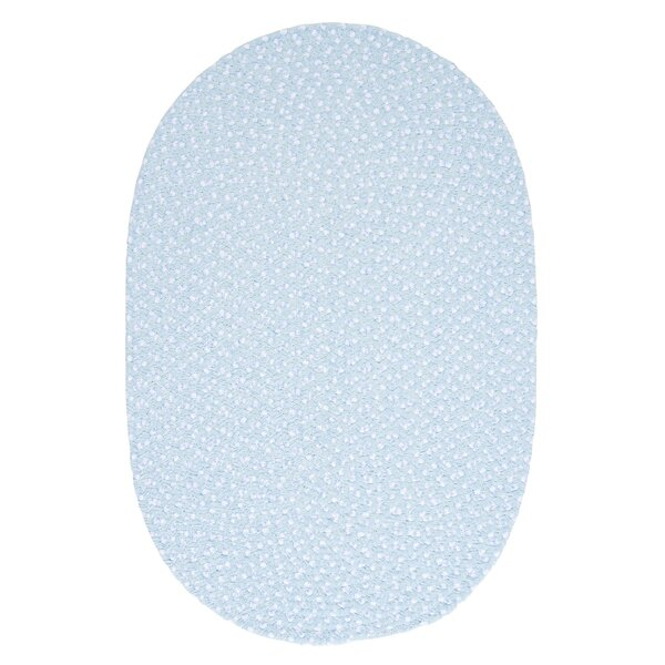 Confetti Sky Blue Area Rug by Colonial Mills