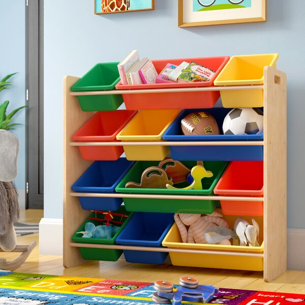 Cassiopeia Sort and Store Toy Organizer by Zoomie Kids