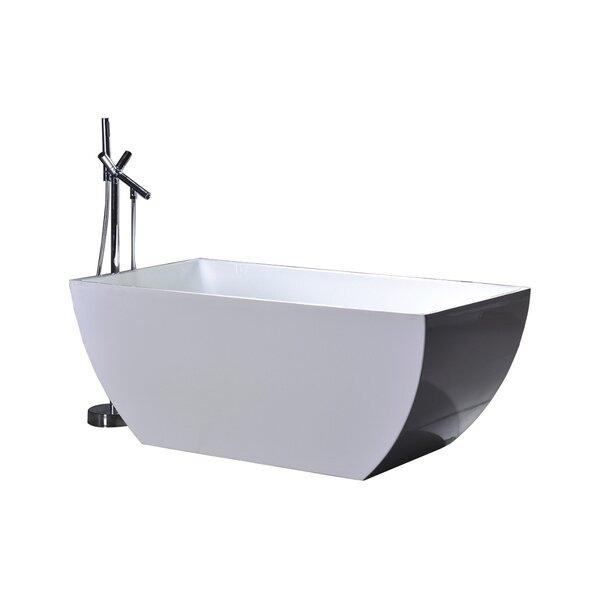 WE Series 67 x 31.5 Soaking Bathtub by Legion Furniture