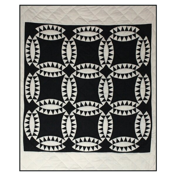 Annora Wedding Ring Cotton Throw by August Grove