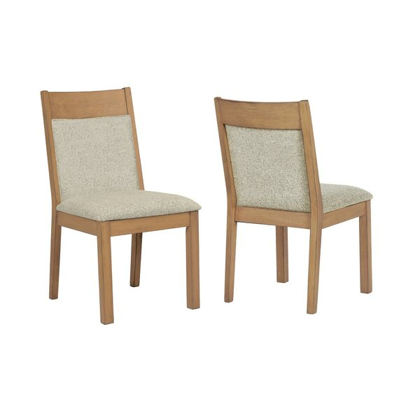 Spires Wooden Upholstered Dining Chair (Set Of 2) By Bay Isle Home Bay Isle Home