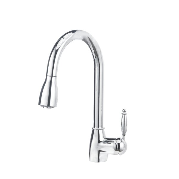 Pull Down Single Handle Kitchen Faucet by Blanco