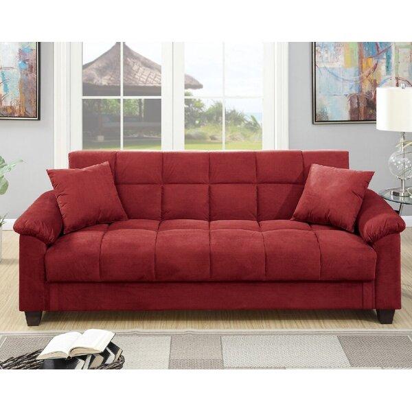Kasen Adjustable Storage Sofa By Winston Porter by Winston Porter