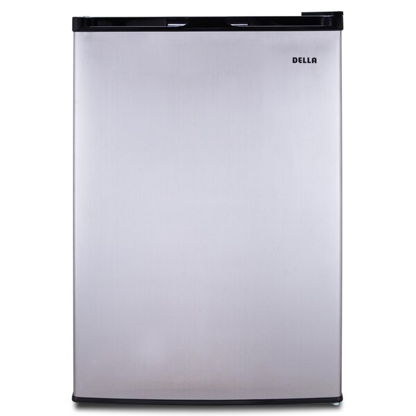 Single Reversible Door 3 cu. ft. Upright Freezer by Della