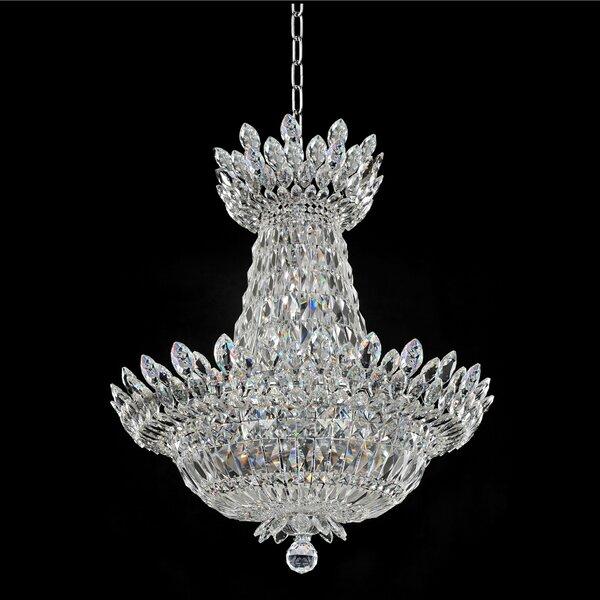 Mathews 15-Light Unique / Statement Empire Chandelier By House Of Hampton