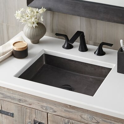 Undermount Sink Rectangular Slate photo