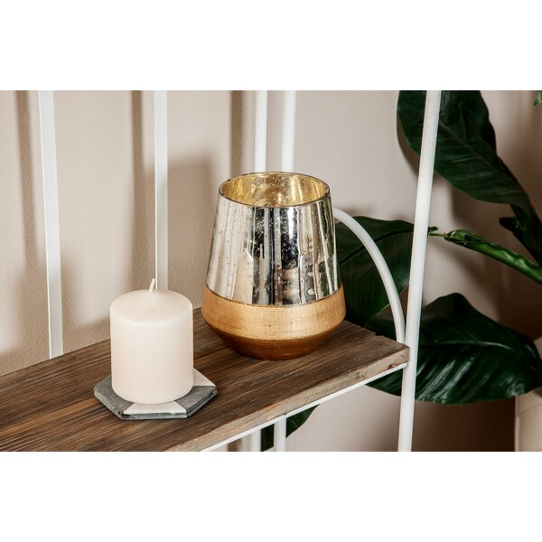Contemporary Glass Votive by Wrought Studio