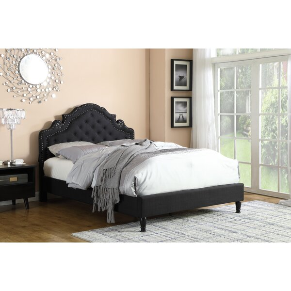 Boyden Victoria Upholstered Platform Bed by House of Hampton House of Hampton