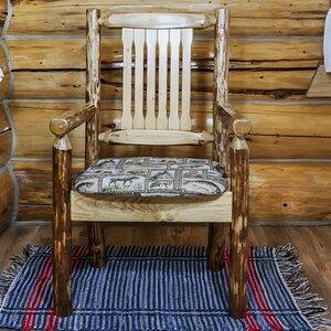 Tungsten Captain's Arm Chair Loon Peak