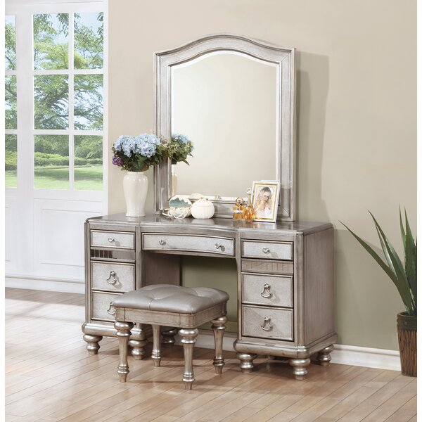 Annunziata Vanity Desk Set by Willa Arlo Interiors