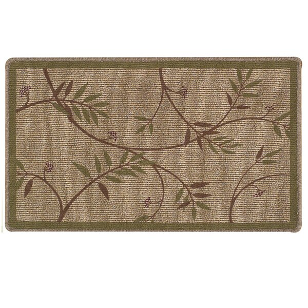 Classic Berber Fairlawn Doormat by Bacova Guild