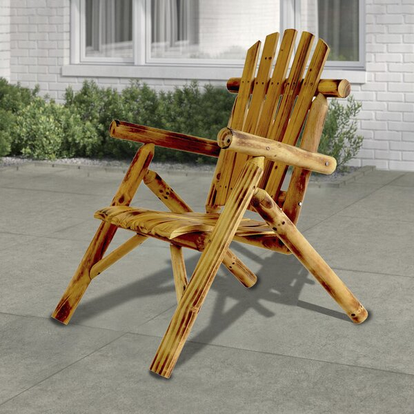 Greg Wood Adirondack Chair by Millwood Pines Millwood Pines