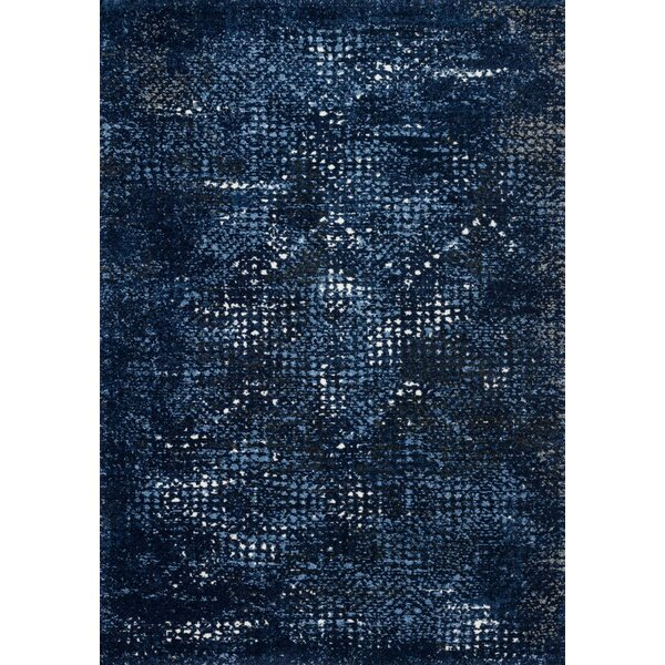 Khemis Blue Area Rug by Bungalow Rose