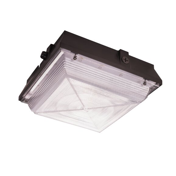 Willow LED Outdoor Flush Mount by Freeport Park
