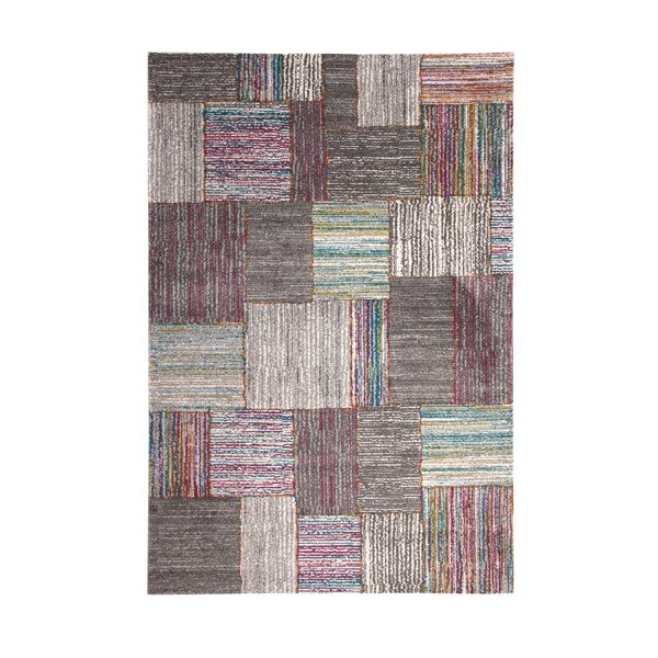 Shurtz Gray/Pink/Blue Area Rug by Latitude Run
