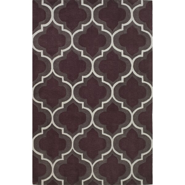 Mitchel Plum Area Rug by Ivy Bronx