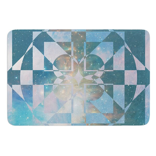 Galactic Hope by Matt Eklund Bath Mat by East Urban Home