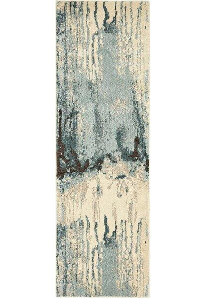Colella Light Beige/Blue Area Rug by Mercury Row