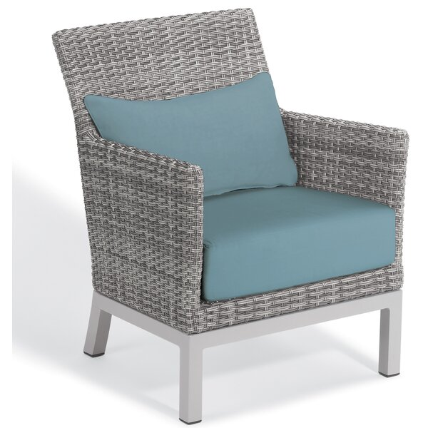 Saleem Club Patio Chair with Cushions by Brayden Studio