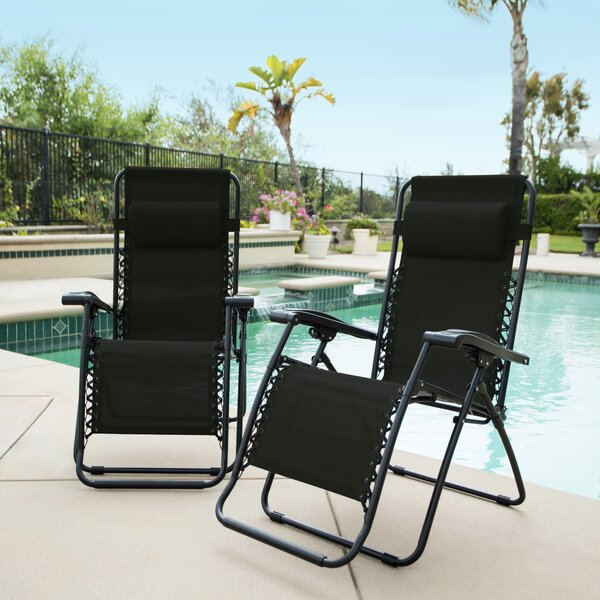 Sonora Jara Reclining Zero Gravity Chair (Set Of 2) By Latitude Run