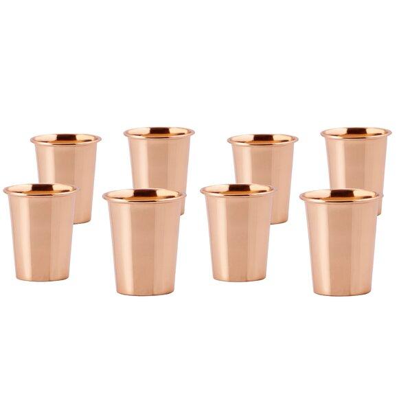2 oz. Copper Shot Glass (Set of 8) by Old Dutch International