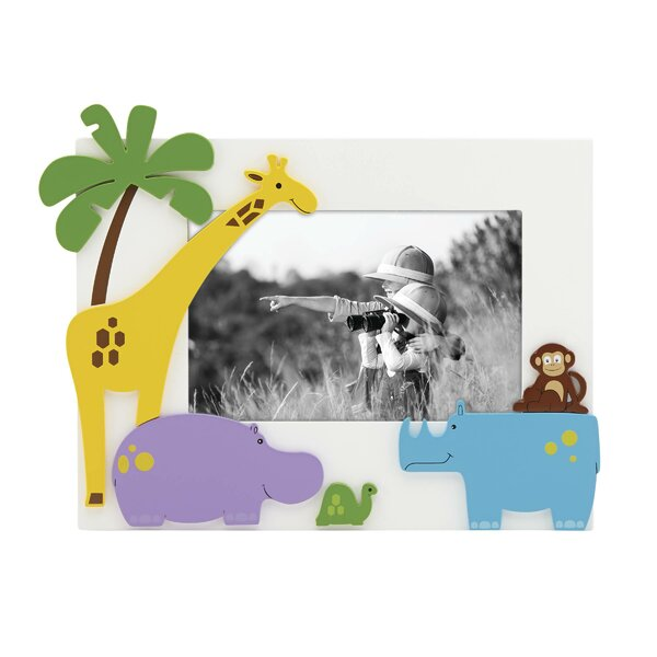Jungle Parade Picture Frame by Reed & Barton
