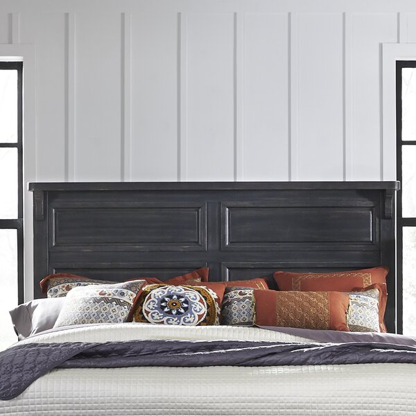 Aberdash Panel Headboard by Three Posts