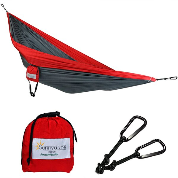 Vanesa Portable Double Camping Hammock by Freeport Park