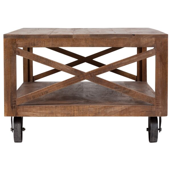 Lepore Barn Door Coffee Table by Loon Peak