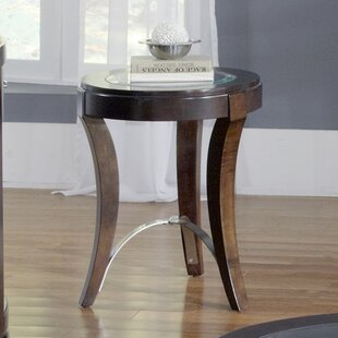 Read Reviews Loveryk Chairside Table ByDarby Home Co