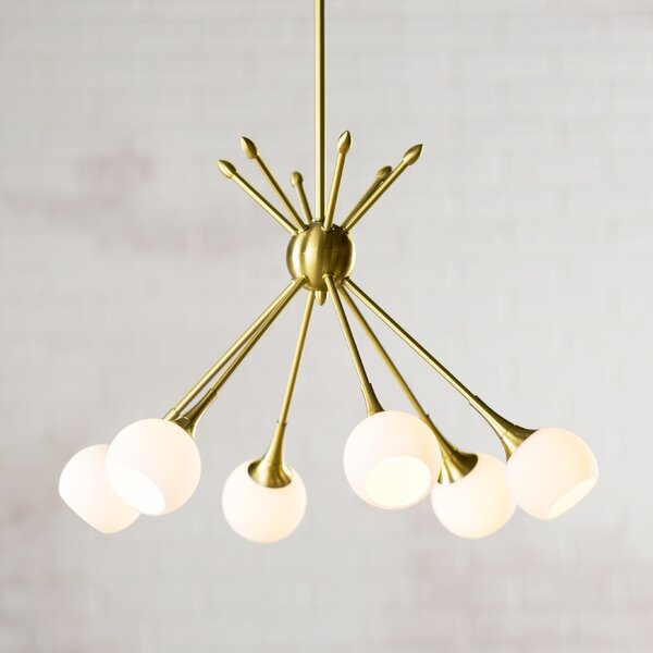 Drexler 6-Light Chandelier by Langley Street
