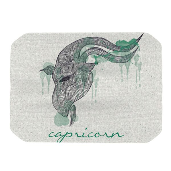Capricorn Placemat by KESS InHouse