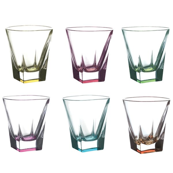 Logic Crystal 12 oz. Shot Glass (Set of 6) by Lorren Home Trends