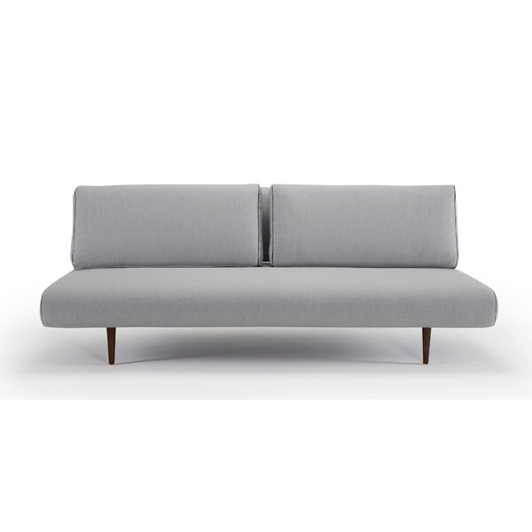 Unfurl Lounger Sleeper Sofa with Cushions by Innovation Living Inc.