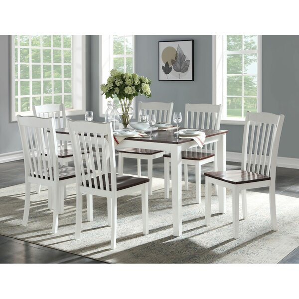 Farryn 7 Pieces Dining Set by August Grove