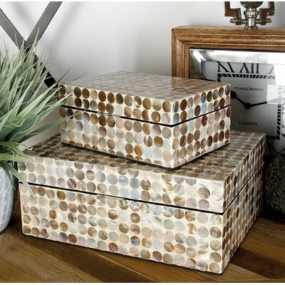 decor containers coles cole amp grey decorative boxes you ll wayfair ca 10196