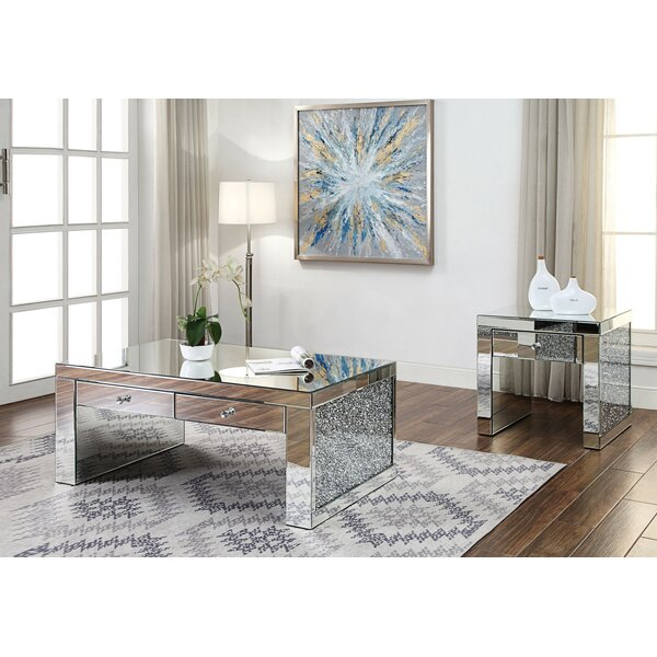 Buskirk 2 Piece Coffee Table Set By Everly Quinn