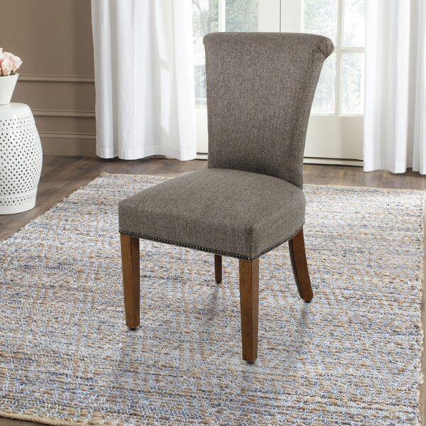 Brad Upholstered Dining Chair by Alcott Hill