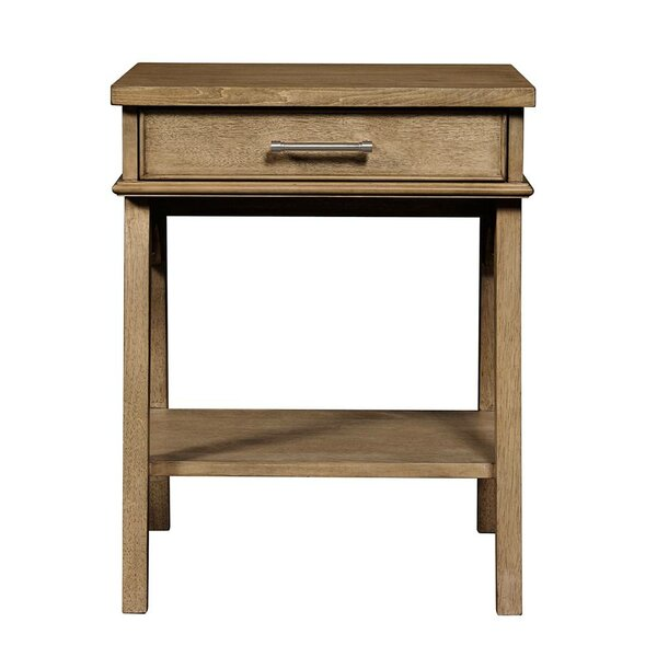 Consuelo 1 Drawer Nightstand by Harriet Bee