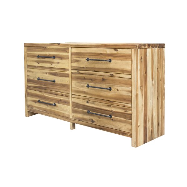 Camilo 6 Drawer Double Dresser by Union Rustic