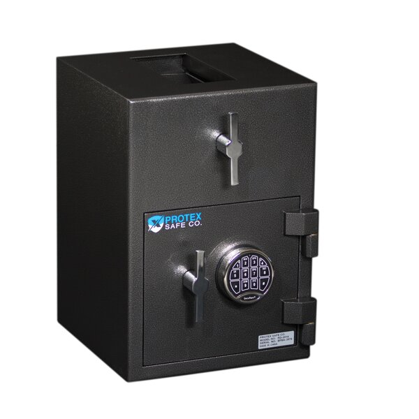 Rotary Hopper Depository Safe by Protex Safe Co.