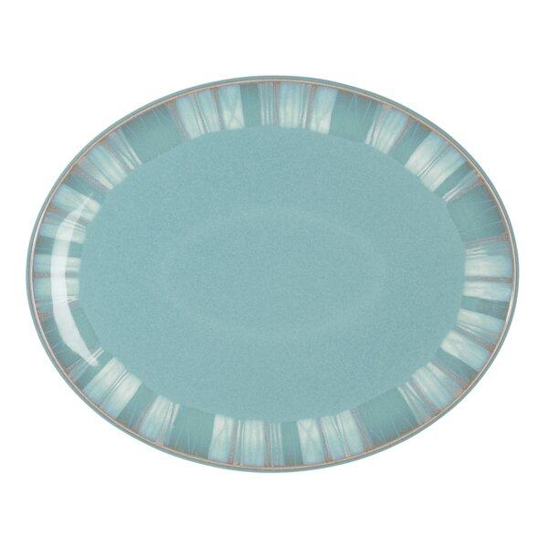 Azure Oval Platter by Denby